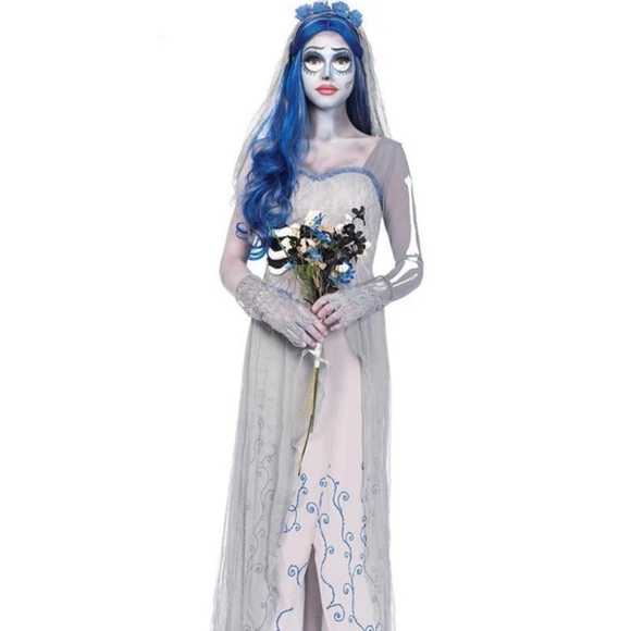 Corpse bride cosplay costume m/l